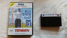 PGA TOUR GOLF Sega Master System Game