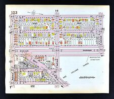 1929 Brooklyn Map Midwood Ocean Bay Parkway 2-8th Street Avenue J New York City