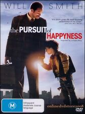 The PURSUIT of HAPPYNESS (Will SMITH) True Story Film DVD NEW Region 4 Happiness