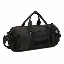 Tactical Duffle MOLLE Hnadbag Gear Military Travel Carry On Shoulder Bag Small