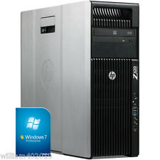 Workstation HP Z620 2x E5-2670 96GB Ram 500GB SSD 2TB HDD Quadro 6000 Win7 x64