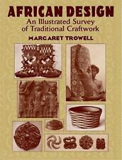 African Design: An Illustrated Survey of Traditional Craftwork (Dover Fine Art,
