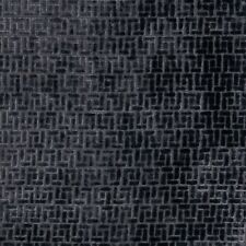 Fabricut Bari Midnight Basketweave Cut Velvet Periwinkle Blue Upholstery Fabric