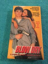 BLOW DRY MOVIE on VHS TAPE