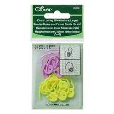 Clover ::Quick Locking Stitch Markers #3032:: Large