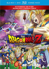 DRAGONBALL Z BATTLE OF THE GODS BLURAY & DVD 3 DISC SET WITH SLIPCOVER