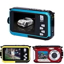 Double Screen Waterproof Full HD Camera 24MP 16x Digital Zoom Dive CMOS Camera