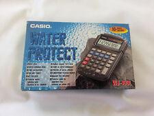 Casio wj-100l Acqua Protect 10 Cifre Display Calcolatrice