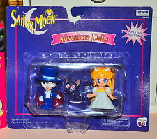Tuxedo Mask Princess Serena Luna Sailor Moon figurine figure set cat
