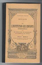 """""""De l'institution des enfants"""" / Michel de Montaigne (1907)"""