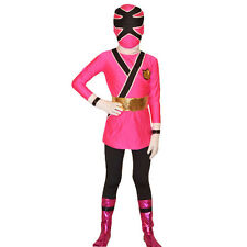 Boys Power Rangers costume kids Samurai cosplay child Halloween bodysuit Custom