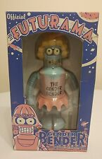 2007 FUTURAMA Official Gender Bender Robot 8 inch Wind-Up Action Toy NIOB