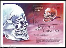 MALDIVES 1992 Mysteries Crystal Skull 25R SS/MS 1v MNH @B512