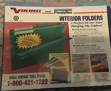 3 Viking Office Products And Pendaflex Interior File Folders 12 Each (36)
