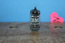 Radio Tubes 6072 Premium 12AY7 IBM by GE Black Plate Triple Mica Test 91 / 96