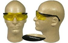 Smith and Wesson Magnum Safety Glasses with Amber Lens