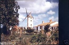 PHOTO ORIGINALE. ALBERT ROBILLARD St-Jean de Monts . Vendée . moulin à vent