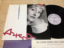 ISABELLE ANTENA-On A Warm Summer Night Japan Rare '88 pressing  LP