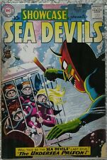 SHOWCASE #28 VG- 3.5 DC 10/1960 SEA DEVILS