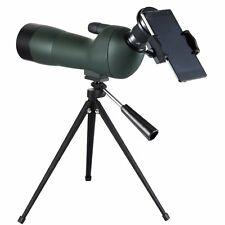 GOMU Advanced Optics Angled 20-60x60 Zoom Spotting Scope Monocular With Tripod