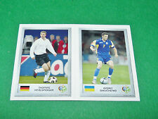 N°13 HITZLSPERGER 140 SHEVCHENKO PANINI FOOTBALL GERMANY 2006 MINI-STICKERS