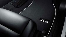 Original Audi A6 4F Textilfußmatten Premium für vorne Fußmatten Textil Velours