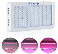 Roleadro Dimmable LED Grow Lights Full Spectrum 300W Plant Grow Light For And