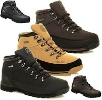 MENS GROUNDWORK SAFETY STEEL TOE CAP BOOTS LEATHER SHOES WORK TRAINERS SZ 3-13