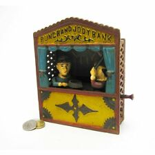 SP1222 - Punch and Judy Theater Collectors' Die Cast Iron Mechanical CoinBank