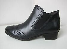 Tamaris Leder Stiefel Stiefelette schwarz 38 ankle boots bootee black classic 2