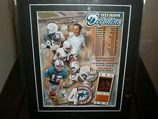 MIAMI DOLPHINS 1972 PERFECT SEASON 17 - 0  PICTURE NEW IN PACKAGE SEE DETAILS