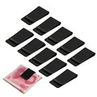 Business Black Stainless Steel Slim Pocket Purse Wallet Money Clip Cash Holder
