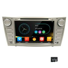 "7668AU 8"" HD Car DVD Player GPS 3G iPhone RDS VMCD 1080P For TOYOTA AURION CAMRY"