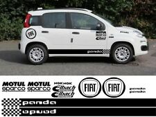 FIAT PANDA KIT x16pc GRAPHICS STICKERS DECALS 500 ABARTH PUNTO CROSS 4X4 QUBO