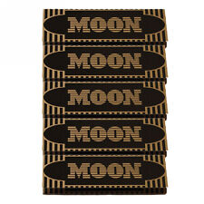 """5×50 sheets 70mm 1.0"""" Moon Gold Flax Cigarette Tobacco Rolling Papers"""