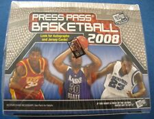 Press Pass Basketball 2008-09 NBA Basketball Trading Cards Box OVP