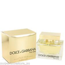 THE ONE 75ml EDP SPRAY BY DOLCE & GABBANA ---------------- NEW PERFUME FOR WOMEN