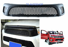 MATTE BLACK FRONT GRILL GRILLE TRD FIT TOYOTA HILUX REVO SR5 M70 M80 4X4 2015-ON
