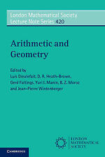Arithmetic And Geometry  9781107462540