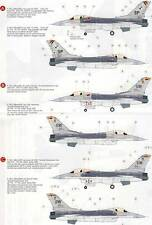 Eduard Decals f-16cj Fighting bloque 50 Falcon 4 versiones - 1:32 modelo-Kit