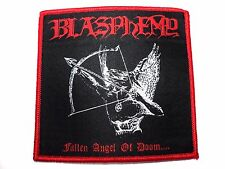 BLASPHEMY-FALLEN ANGEL OF DOOM      WOVEN  PATCH