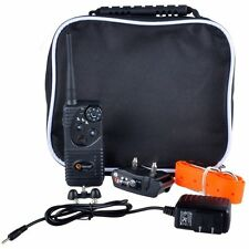 Aetertek AT-216 Dog Trainer Shock E Collar Vibrate Beeps Waterproof Rechargeable