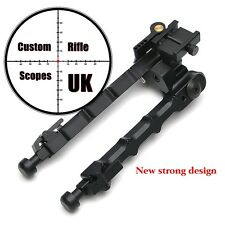 "Rifle Bipod tactical QD mount 6 to 9"" adjustable auto out and pivot (new design)"