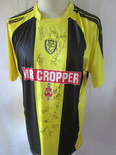 Burton Albion 2012-2013 Squad Signed Home Football Shirt COA  BNWT /34413