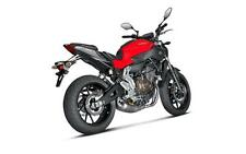 Yamaha MT-07 FZ-07 Akrapovic Road Legal Racing Exhaust System Titanium End Can
