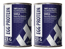 Egg White Powder - EGG PROTEIN VANILLA 340g - Repair The Muscle 2C