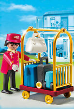 BNIB Playmobil 5270 PORTER WITH BAGGAGE from Grand Hotel range