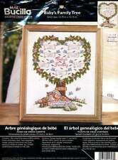 NEW BUCILLA BABYS FAMILY TREE CROSS STITCH KIT