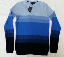 NWT Tommy Hilfiger Girl's Youth Striped V-neck Sweater Size: XXS