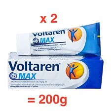VOLTAREN MAX GEL 2 x 100  = 200g pain relief FREE SHIPPING SPECIAL PRICE